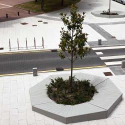 escofet otto concrete planter