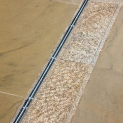 beige granite trim