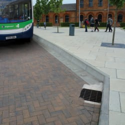 bus stop kerb