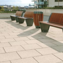 charnwood paving - french grey