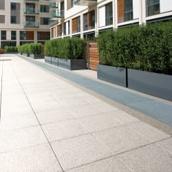 conservation paving - heather grey
