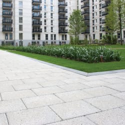conservation textured paving - heather grey