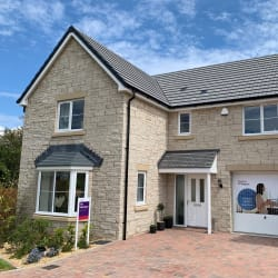 darlstone natural pitched walling