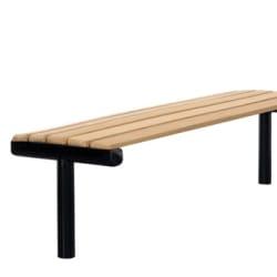 ferrocast parkway bench in polyurethane