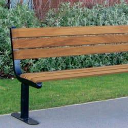 ferrocast parkway seat in polyurethane