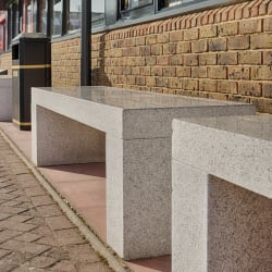 geoform simple 2000 bench contemporary style