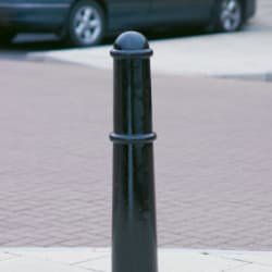 imperial msf 108 large cannon cast iron bollard