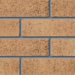 fairway lakeside buff perforated facing brick swatch panel