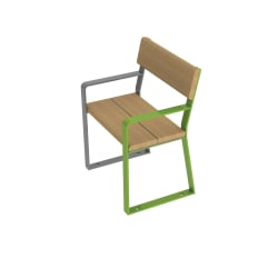 loci single seat with arms
