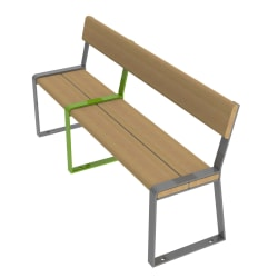 loci three place seat