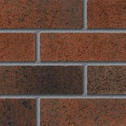 fairway long ashton currant perforated facing brick swatch panel