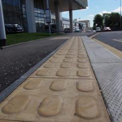 lozenge tactile paving - buff