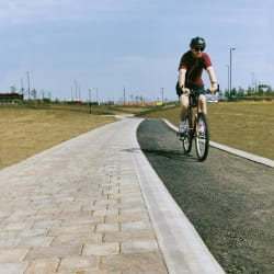 marshalls tactile cycleway demarcation natural