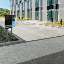modal paving - mid grey