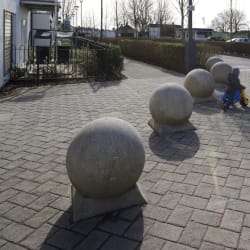 spherical 700 bollard