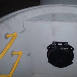 non-return flap valve chamber
