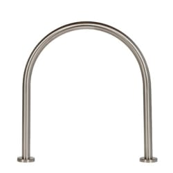 ollerton hoop steel and stainless steel cycle stand