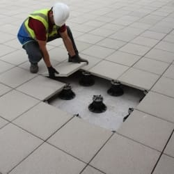 pedestals - installation