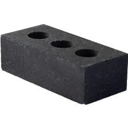 perforated engineering brick - blue