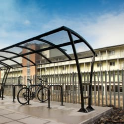 pluto cycle shelter - network rail headquarters