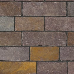 porphyry purple mix setts