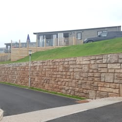 redi rock landscaping wall holiday park