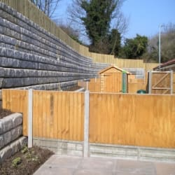 redi rock retaining wall tutbury