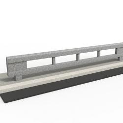 rhinoguard beam - galvanised mild steel