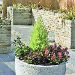 strada circular planter