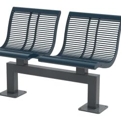 urban city seat - steel & pc