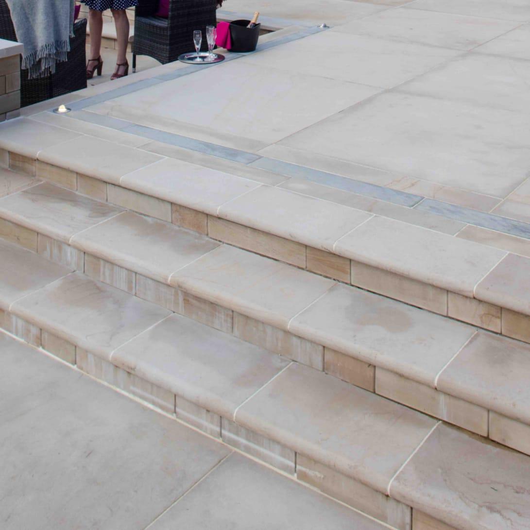 sawn versuro steps - golden sand multi