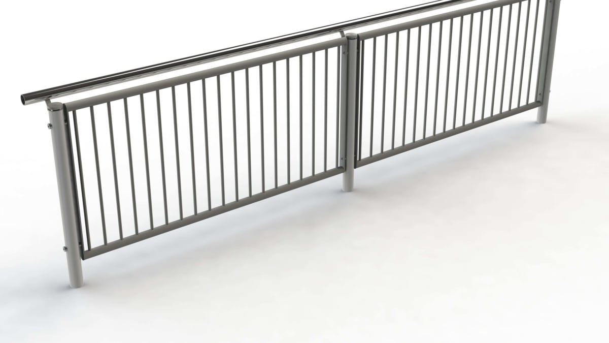 Geo handrail and balustrade