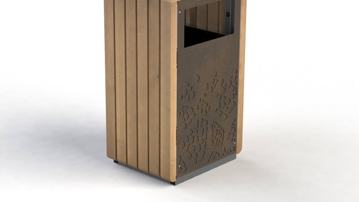 Natural Elements Litter Bin