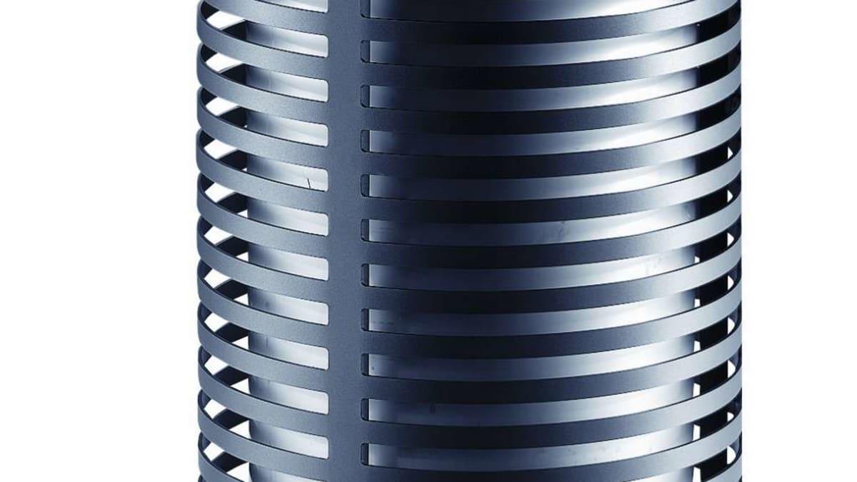 Contemporary Litter Bin - Top Aperture