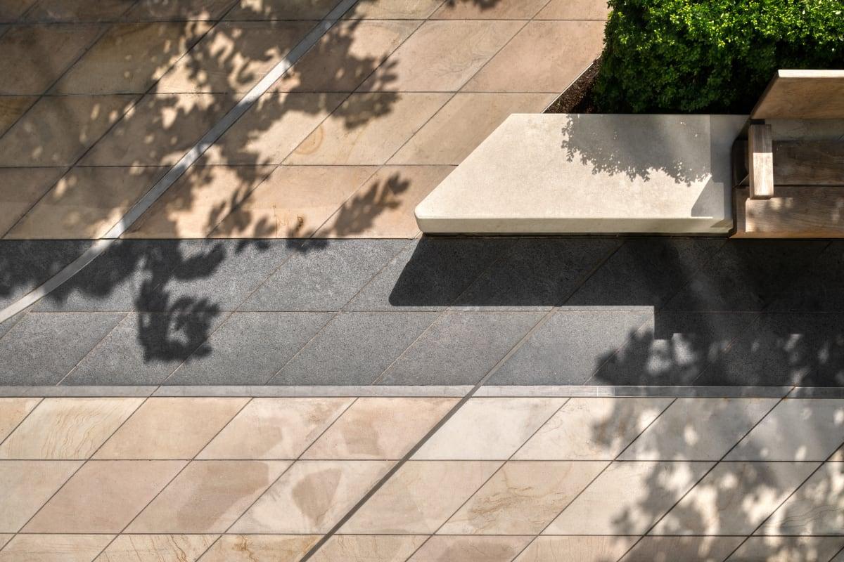 International Quarter London - Indian Sandstone