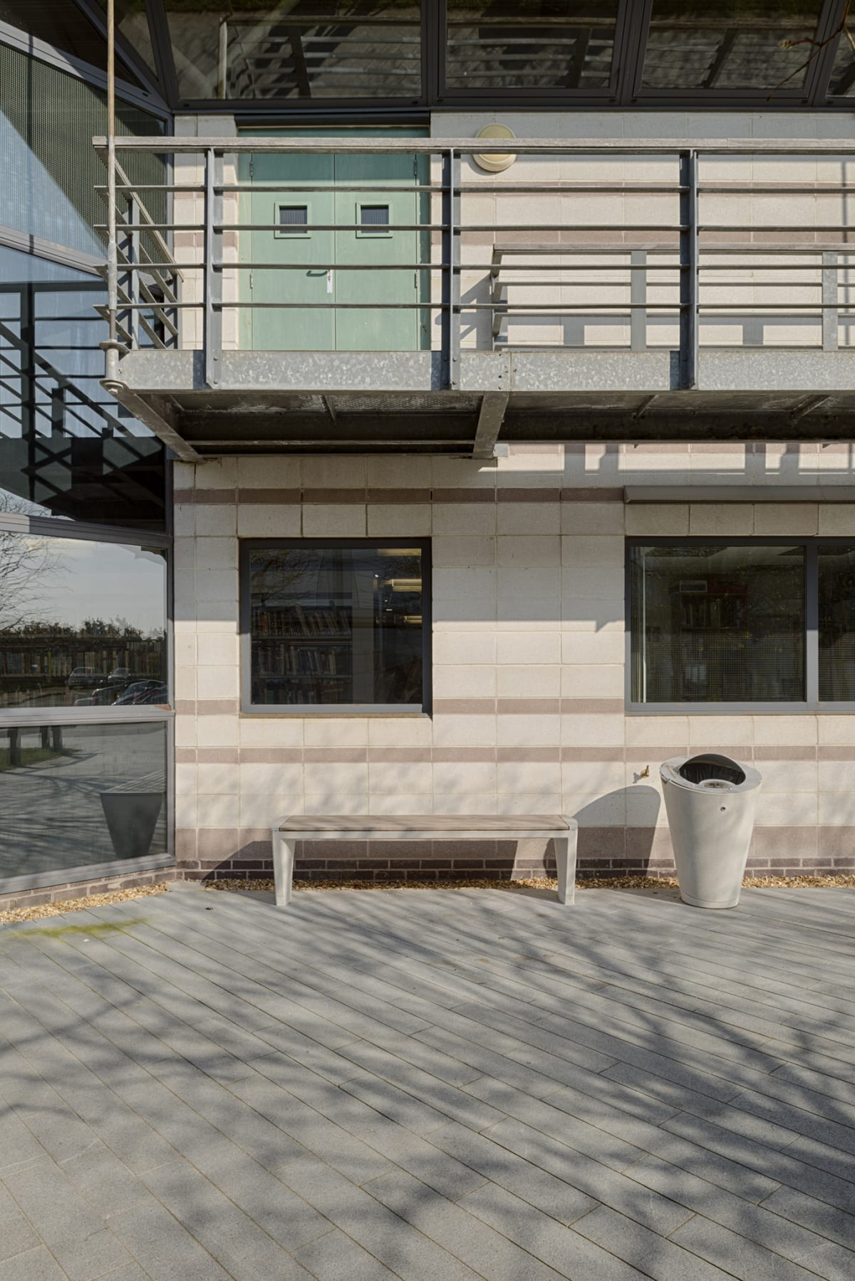 Coda Litter Bin and Bench, Poole