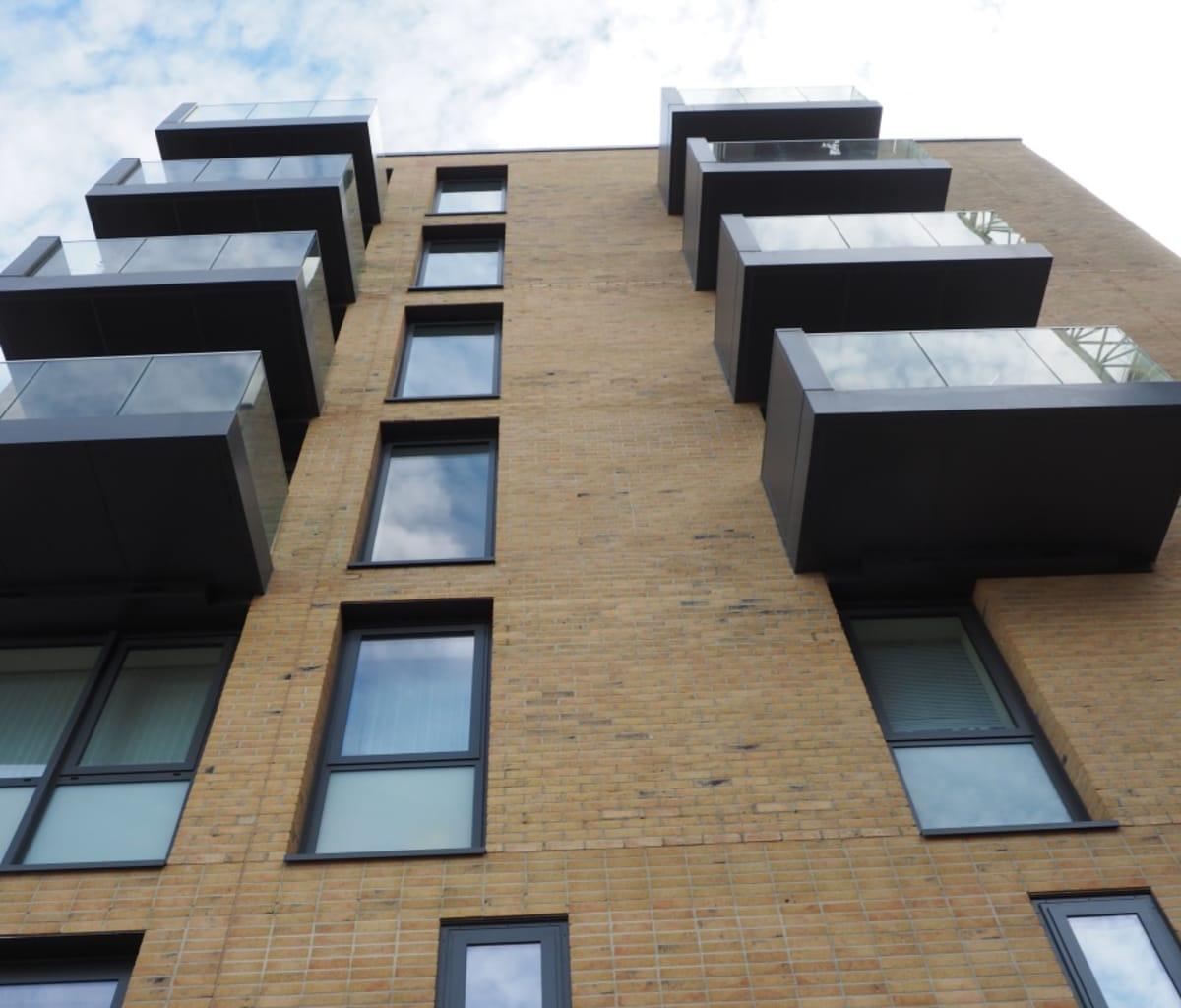 Kensington Stock Facing Brick used for apartments