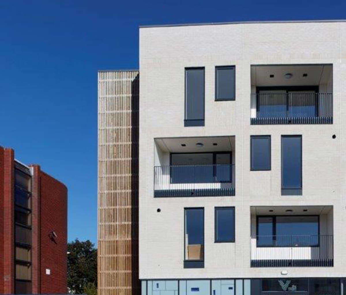 Affordable homes featuring facing bricks