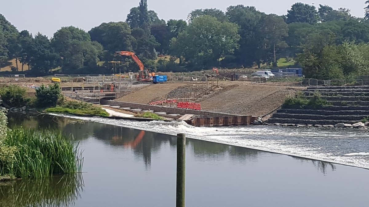 River Severn, Bevere Weir