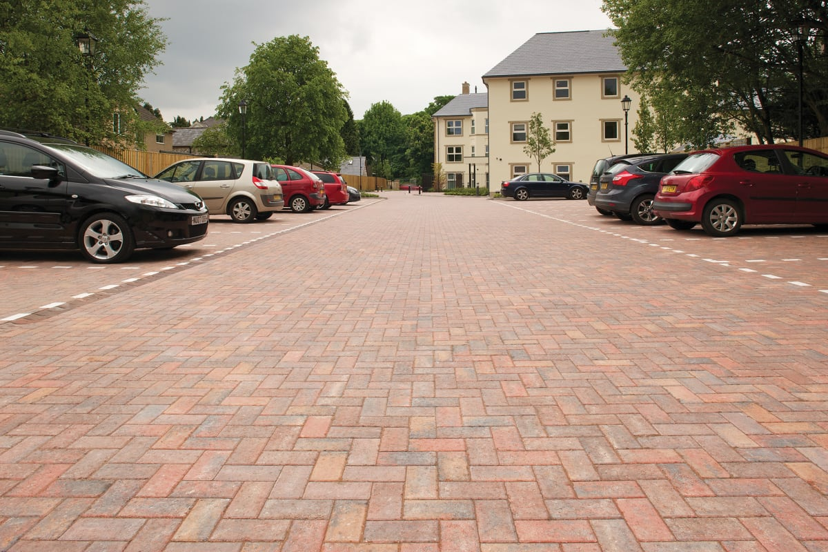 keyblok paving - brindle