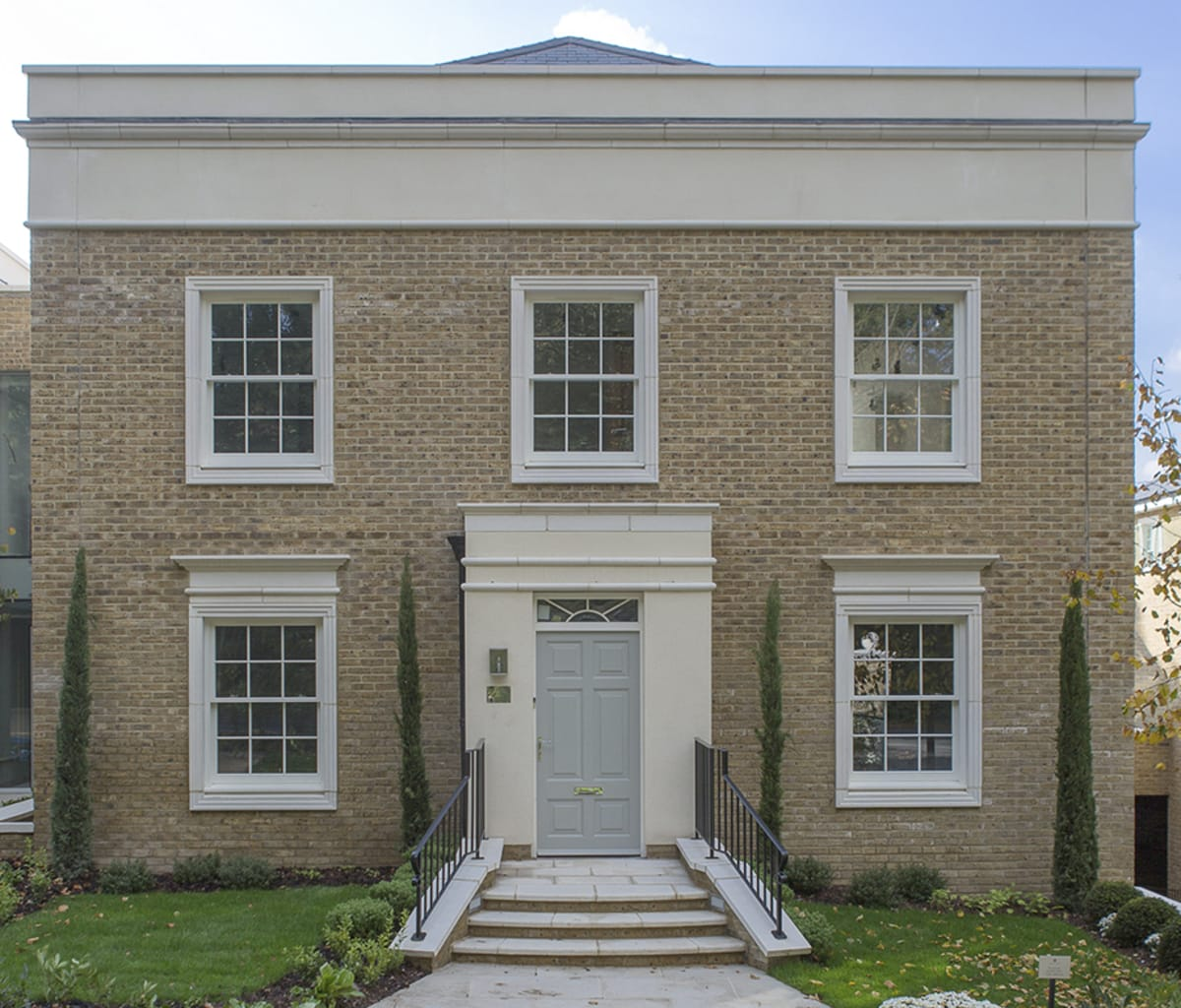 Porticos and window surrounds from Marshalls cast stone
