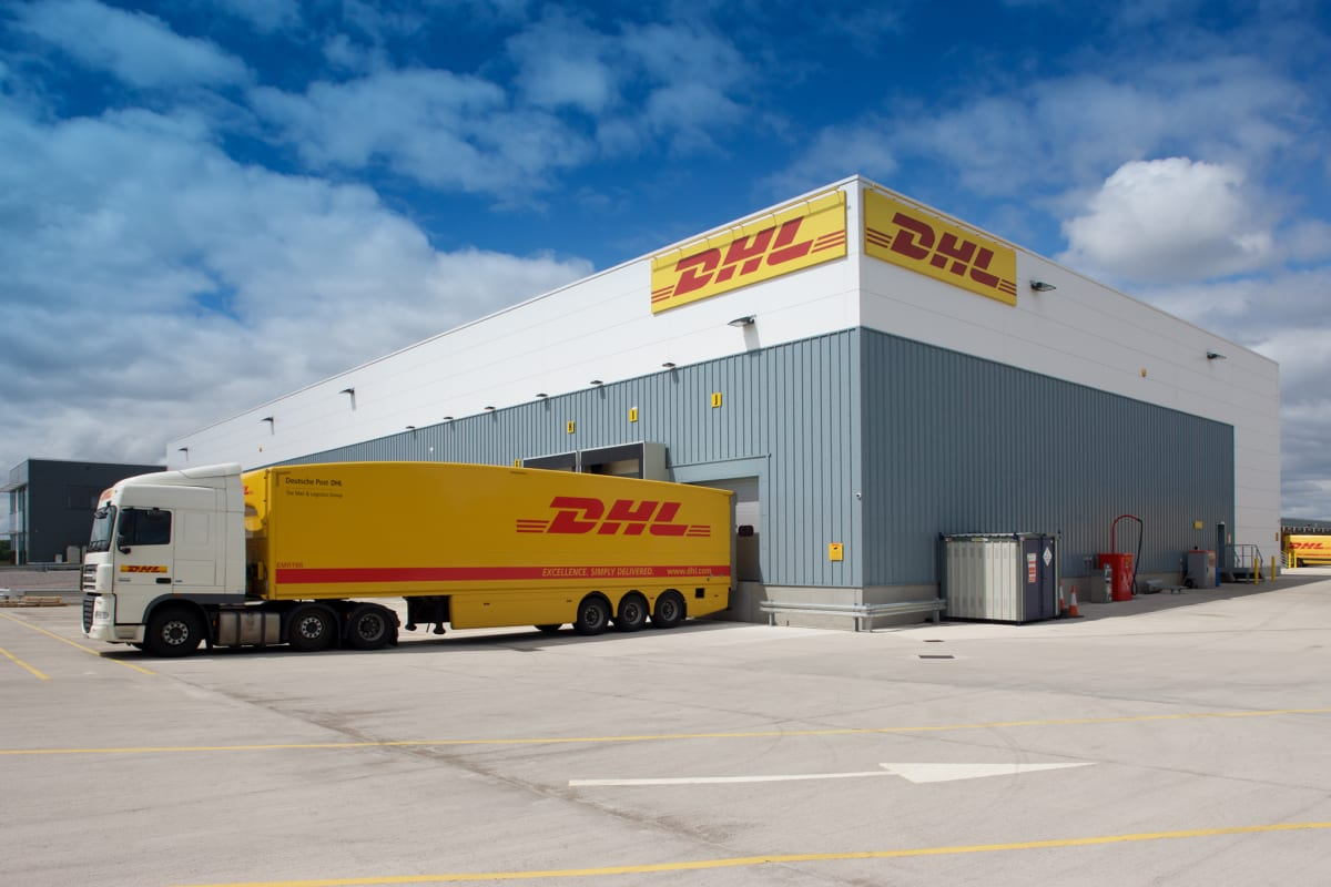 DHL World Logistics Hub. Altrincham