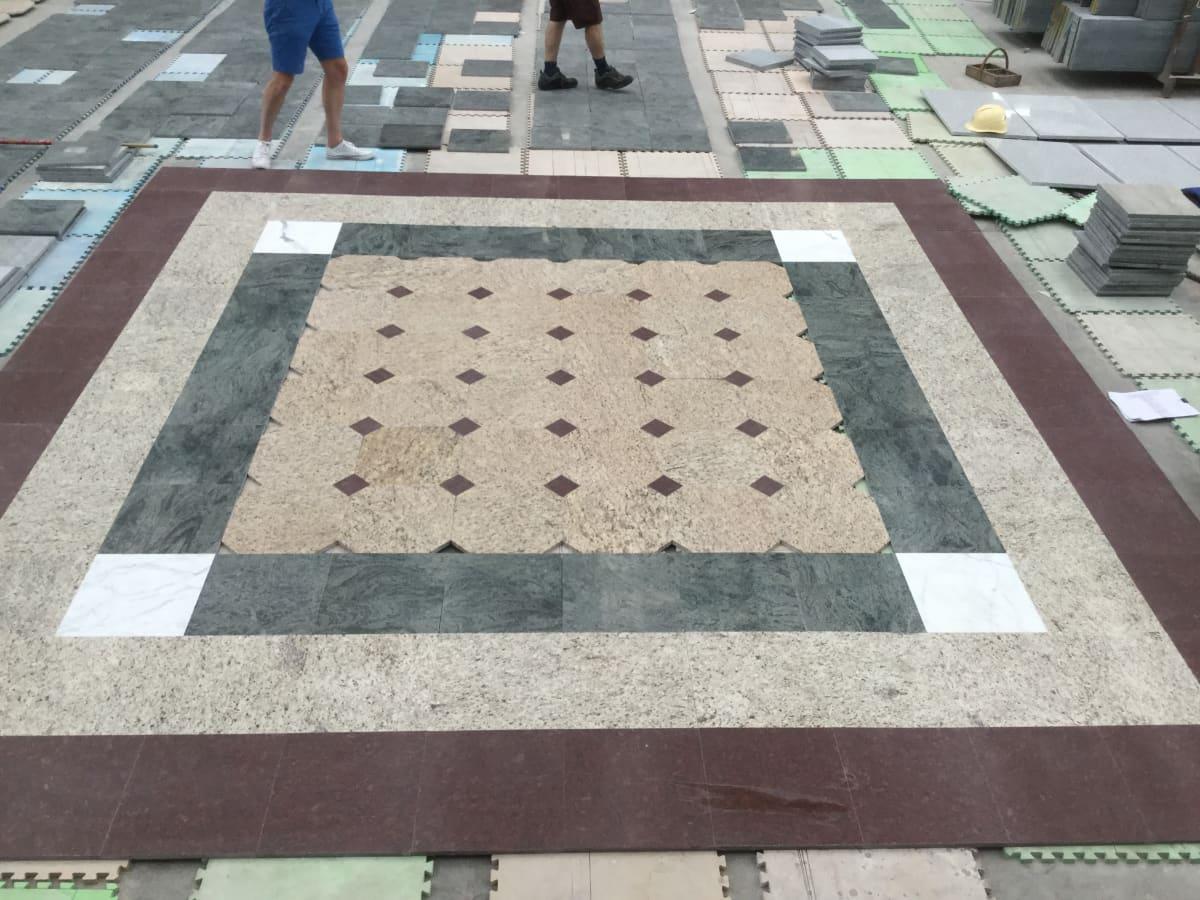 Field Tiles Dry Lay