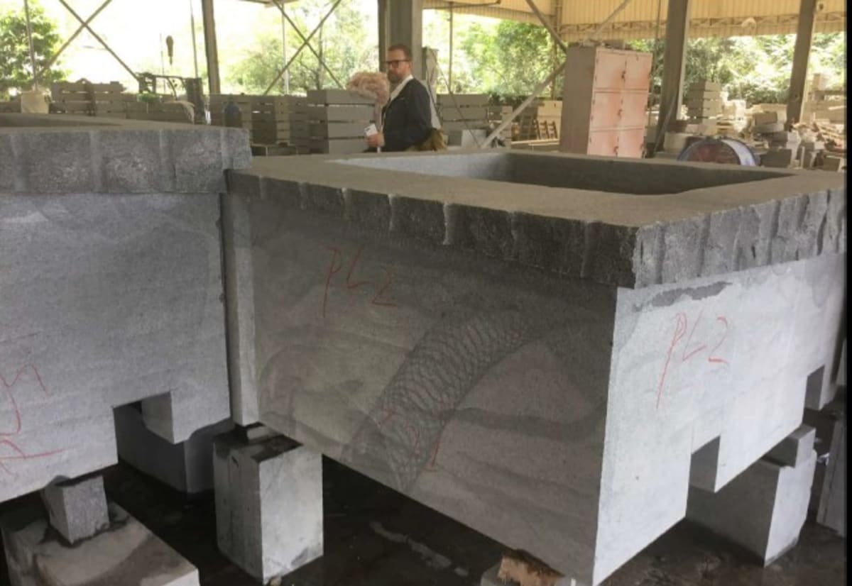 Retaining Wall in Production