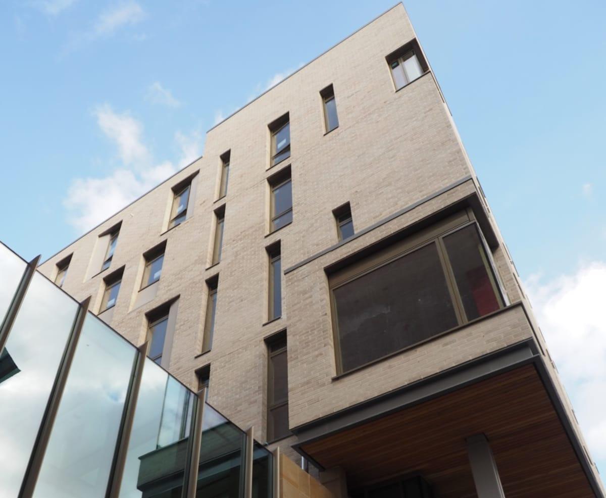Accommodation block in Edinburgh