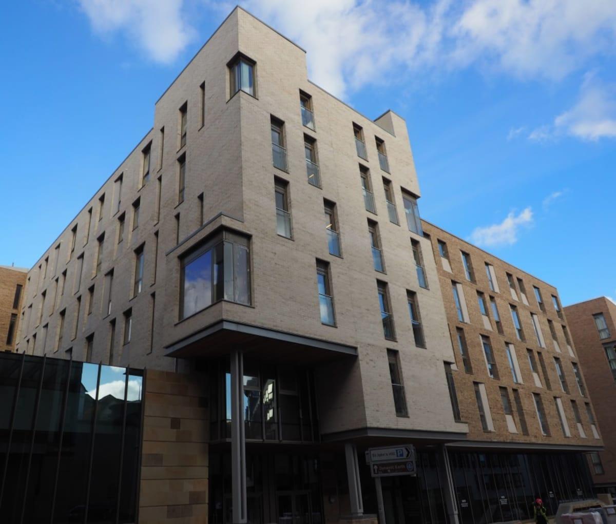 35,000 facing bricks used to create accommodation in Holyrood, Edinburgh