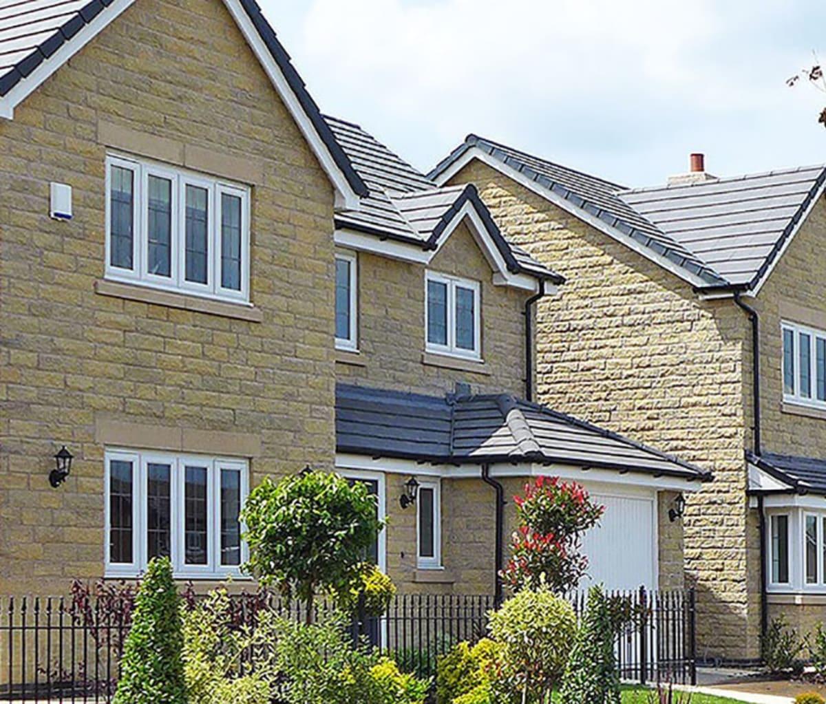 Housing development in High Peak, Derbyshire