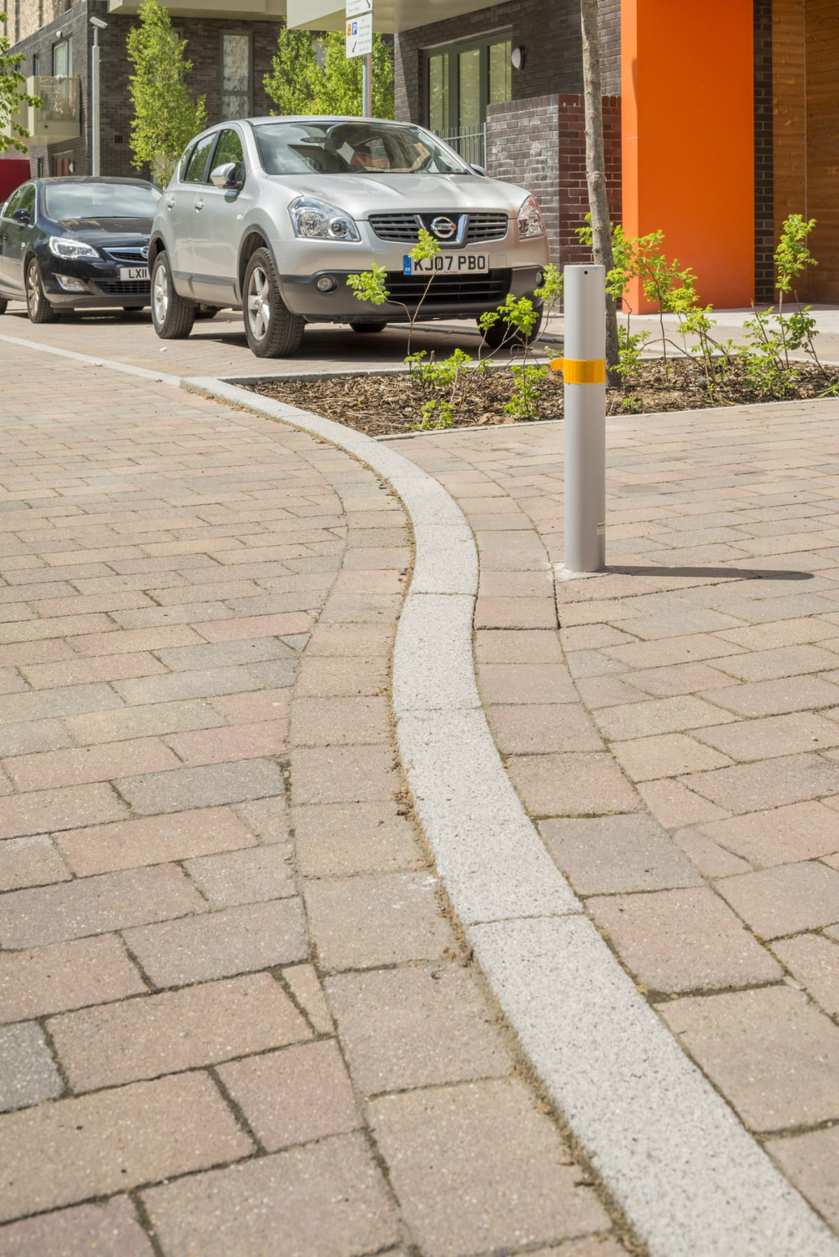 grey conservation kerb - ocean estate