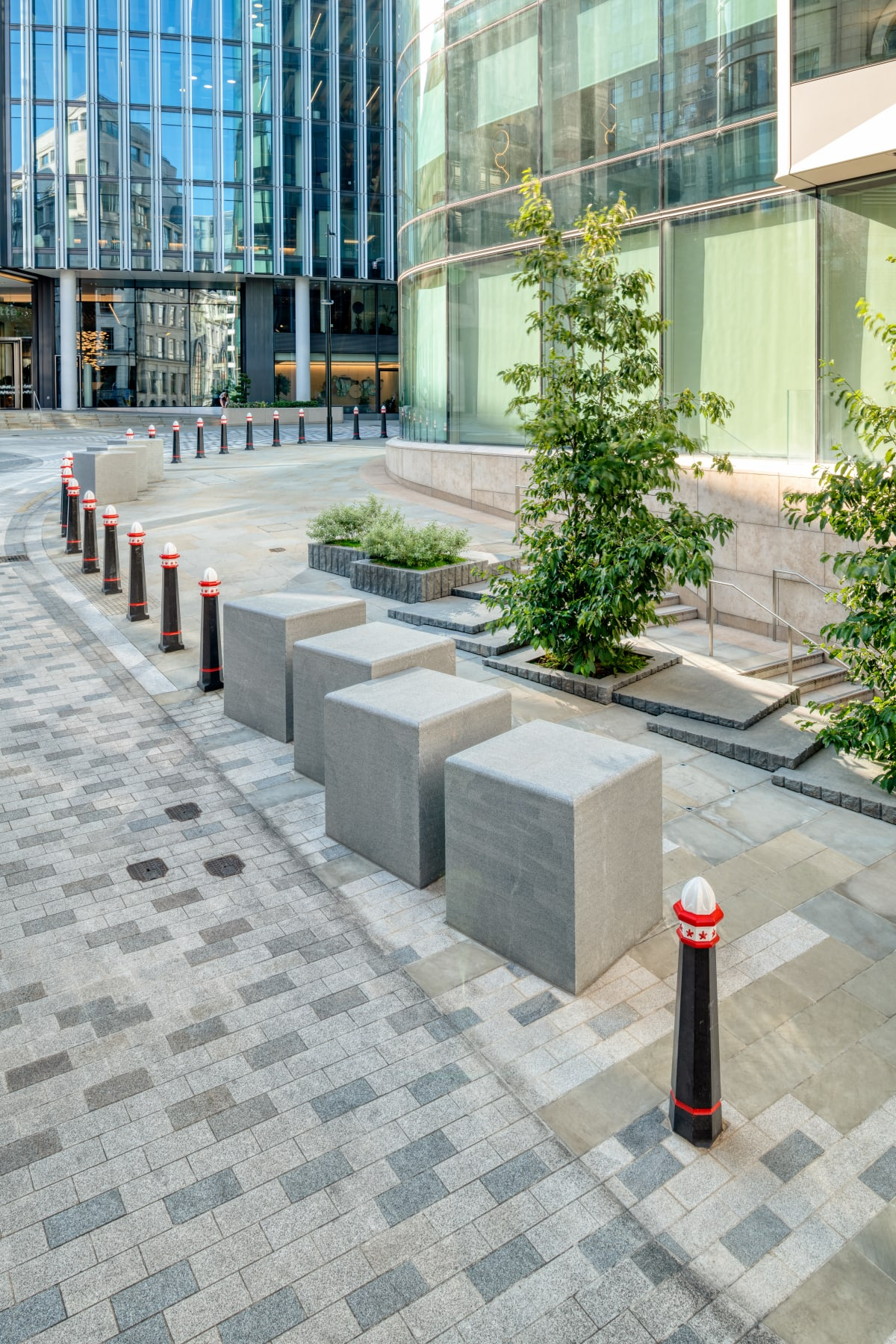 Natural Stone Integrated Street Protection