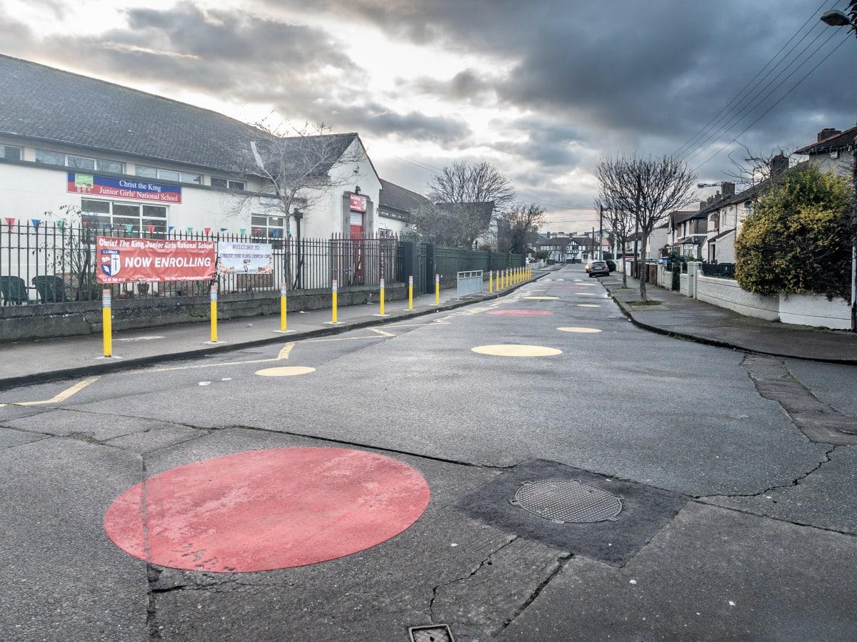 Dublin PiPencil Bollard New School Zone